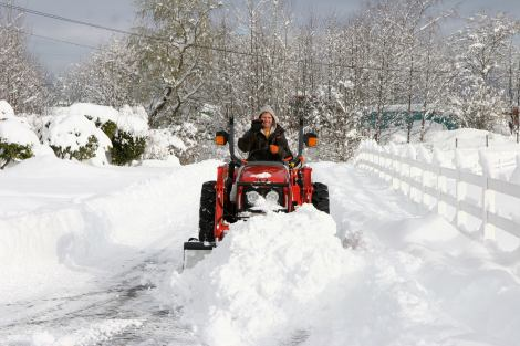 Plowing Snow