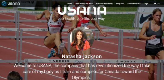 My USANA Website -  www.natashajackson.usana.com Check it out!